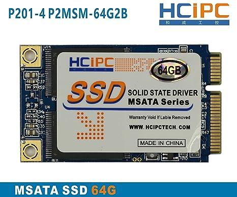 hcipc P201 - 4 p2msm-64g2b 64 G Mini PCIe mSATA SSD de disco de ...
