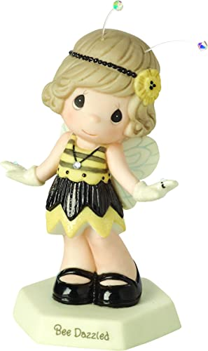 Precious Moments, Bee Dazzled Bisque Porcelain Figurine, 153019