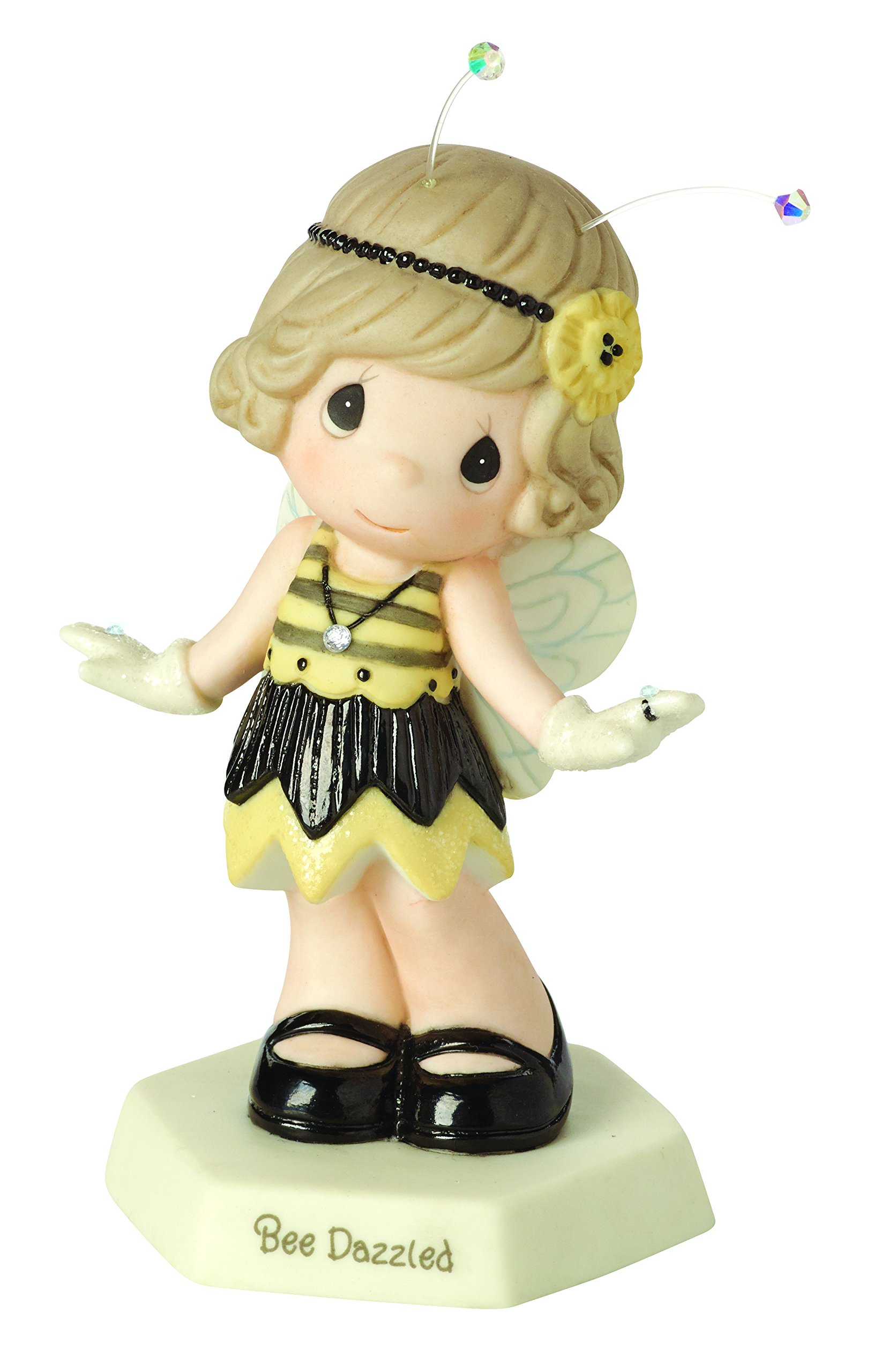 Precious Moments,  Bee Dazzled Bisque Porcelain Figurine, 153019