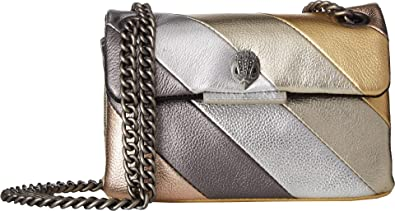 61ea6b957a5e Kurt Geiger London Women's Mini Kensington Crossbody Metal Comb One Size:  Handbags: Amazon.com