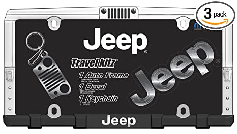 Amazon.com: Chroma 058001 Jeep Travel Kit, 3 Pack: Automotive