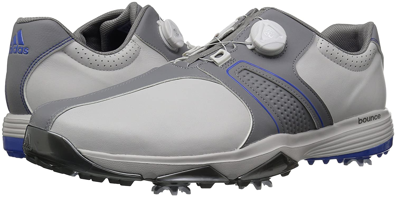 separation shoes b787d 64435 Zapatillas de golf Adidas 360 Traxion Boa para hombre Gray One  Gray Three   Hi-res Blue