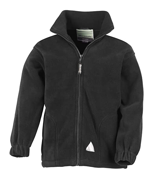Kids / Childrens full zip fleece Jacket: Amazon.co.uk: Clothing