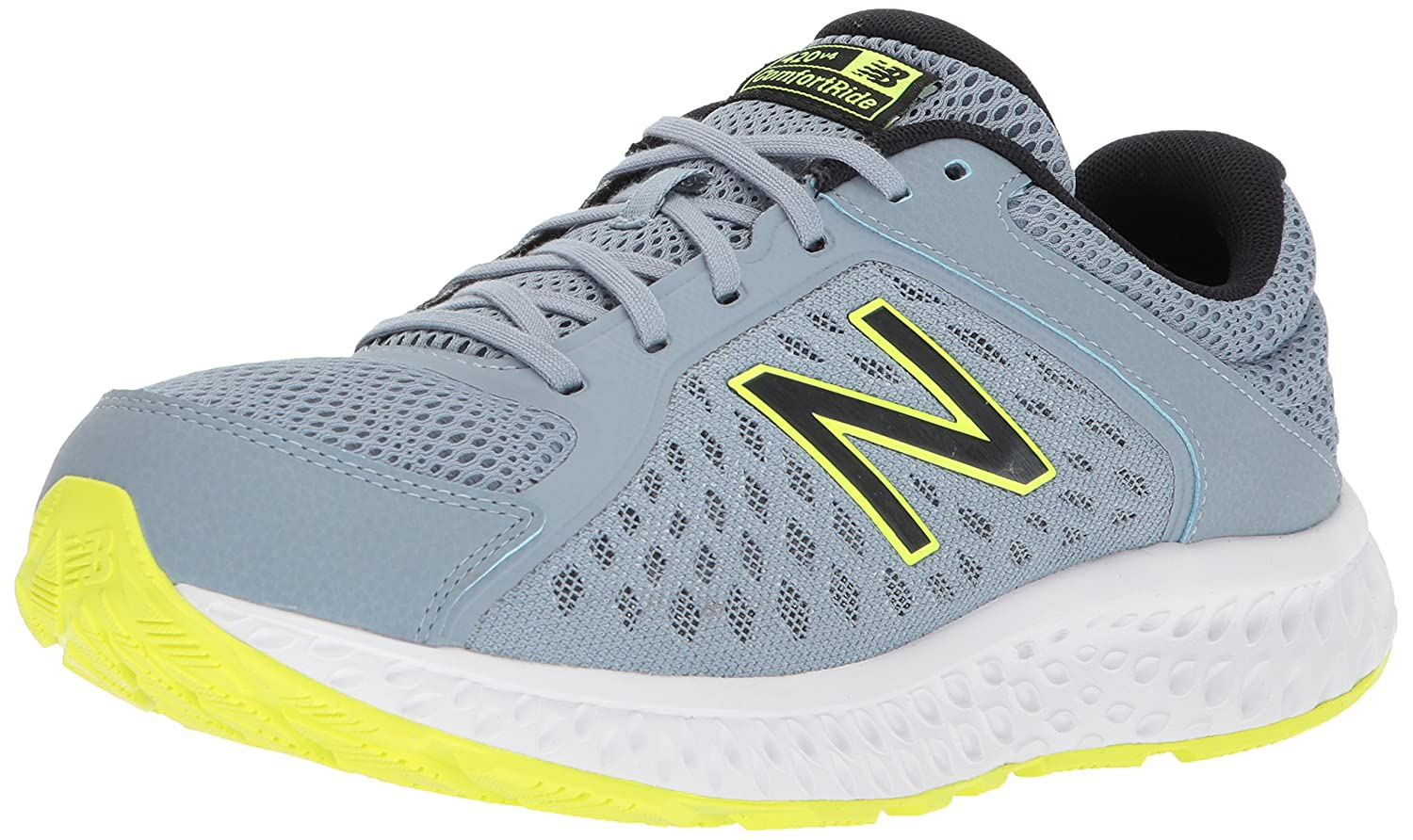New Balance Men's 420v4 Cushioning Running Shoe B06XRVRFMP 14 4E US|Grey/Black
