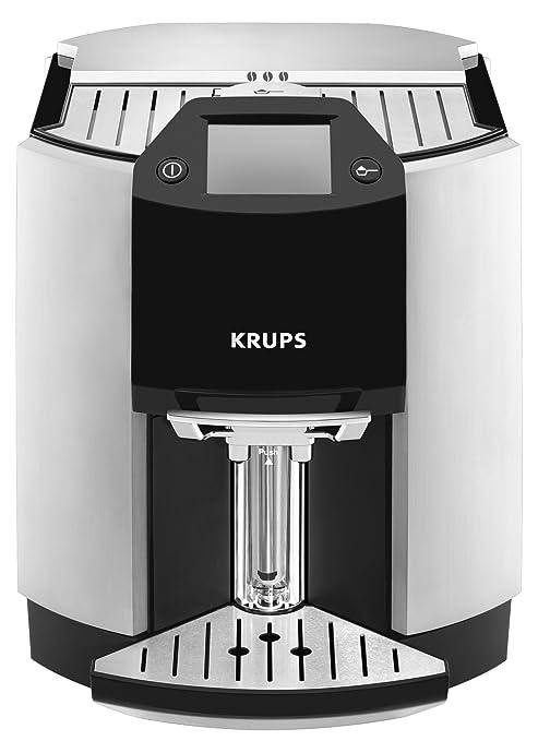 Krups yy8124fd cafetera espresso Full Auto Barista Metal/Negro