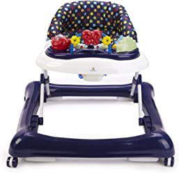 Big Oshi 2 in 1 Baby Walker   Activity Center on Wheels - Musical Walker  with 1b964f466
