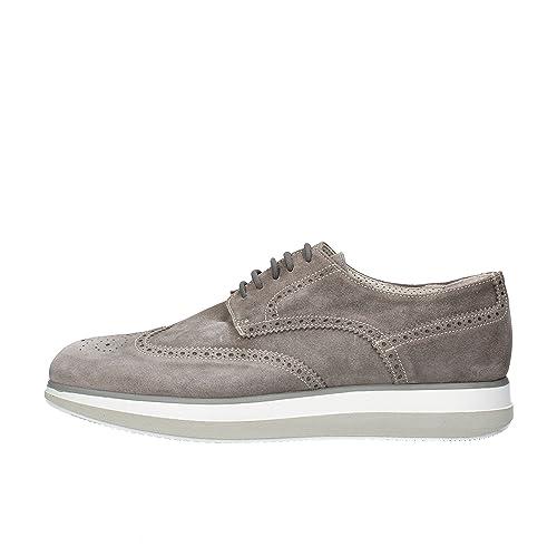 JACKAL zapatos elegantes hombre gris Gamuza AG864 (45 EU) Tmr0dqs