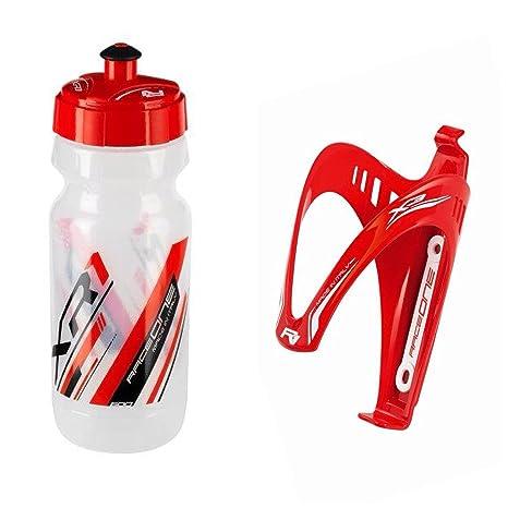 Raceone Kit Race Duo X3 : Porta Bidon X3 Bidon de Ciclismo XR1 Bici Carrera de Ruta//Bicicleta de Monta/ña MTB//Gravel Bike 2 PCS 100/% Made IN Italy