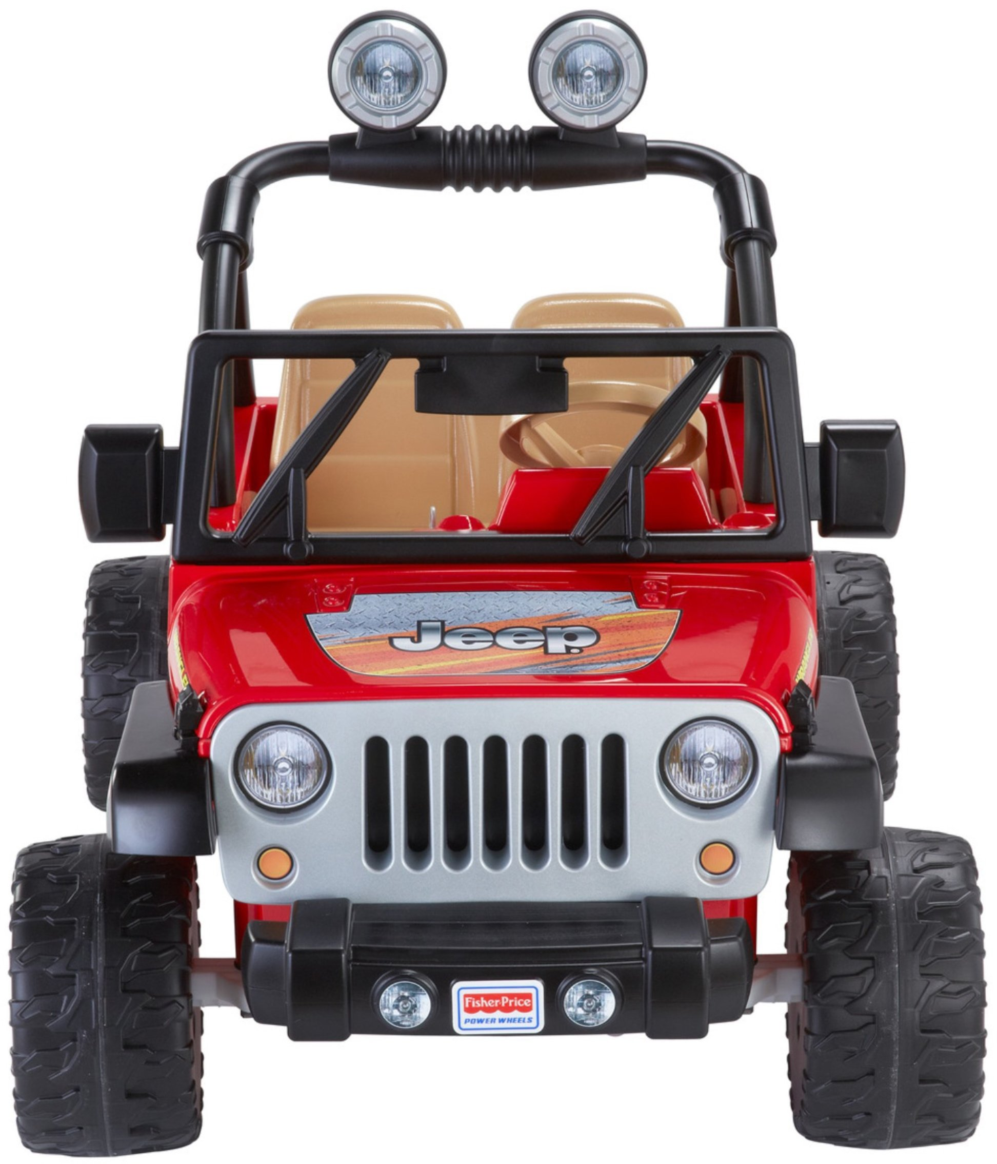 Power Wheels Jeep Wrangler, Red by Fisher-Price (Image #8)