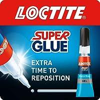 Loctite Super Glue Power Easy Gel / Extra sterke gel niet-druppellijm voor leer, rubber, hout, metaal, porselein, papier…
