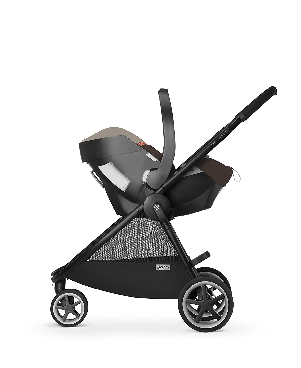 CYBEX Agis M-Air3 Baby Stroller, Hot and Spicy
