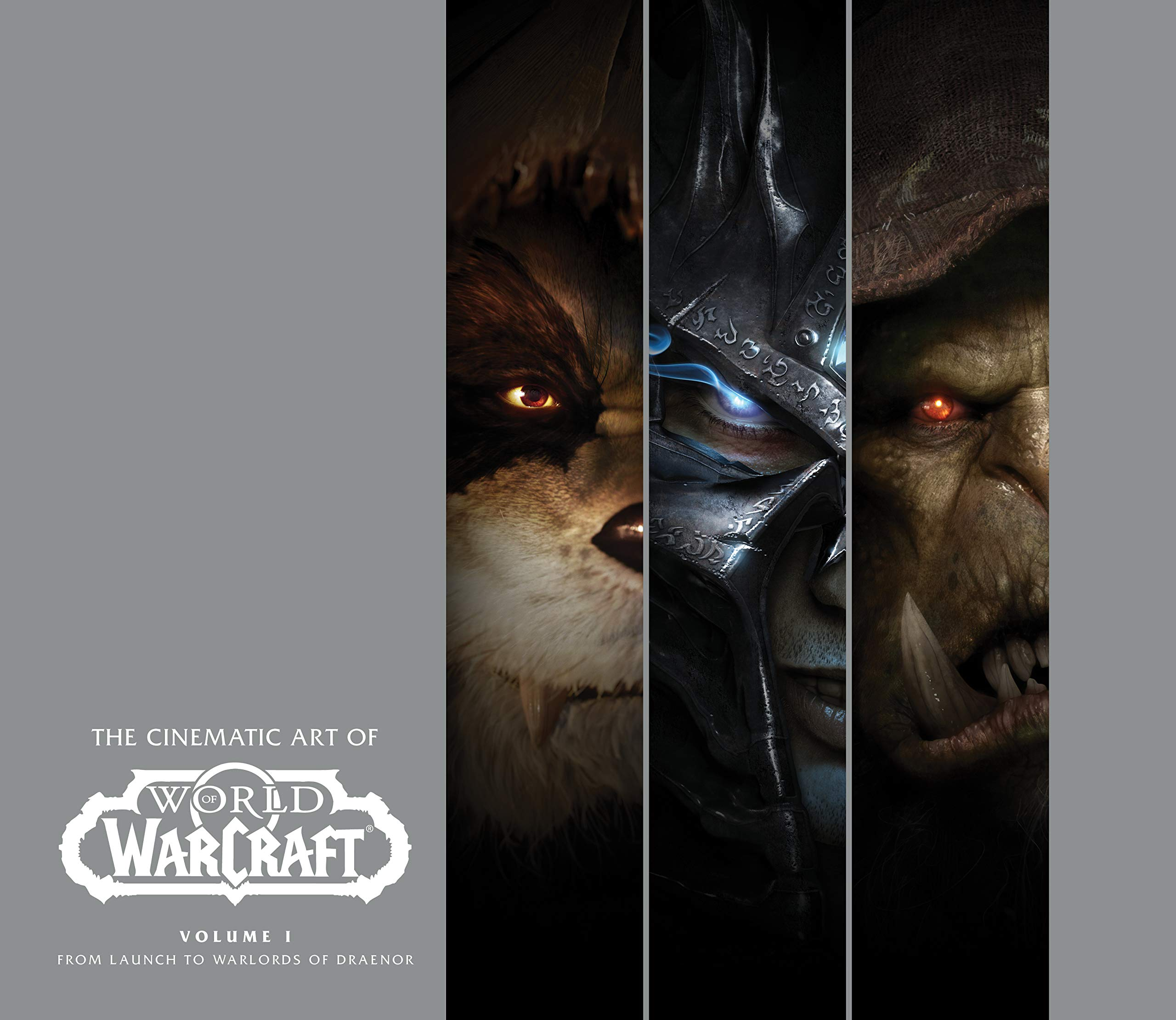 Amazon Com The Cinematic Art Of World Of Warcraft Volume I