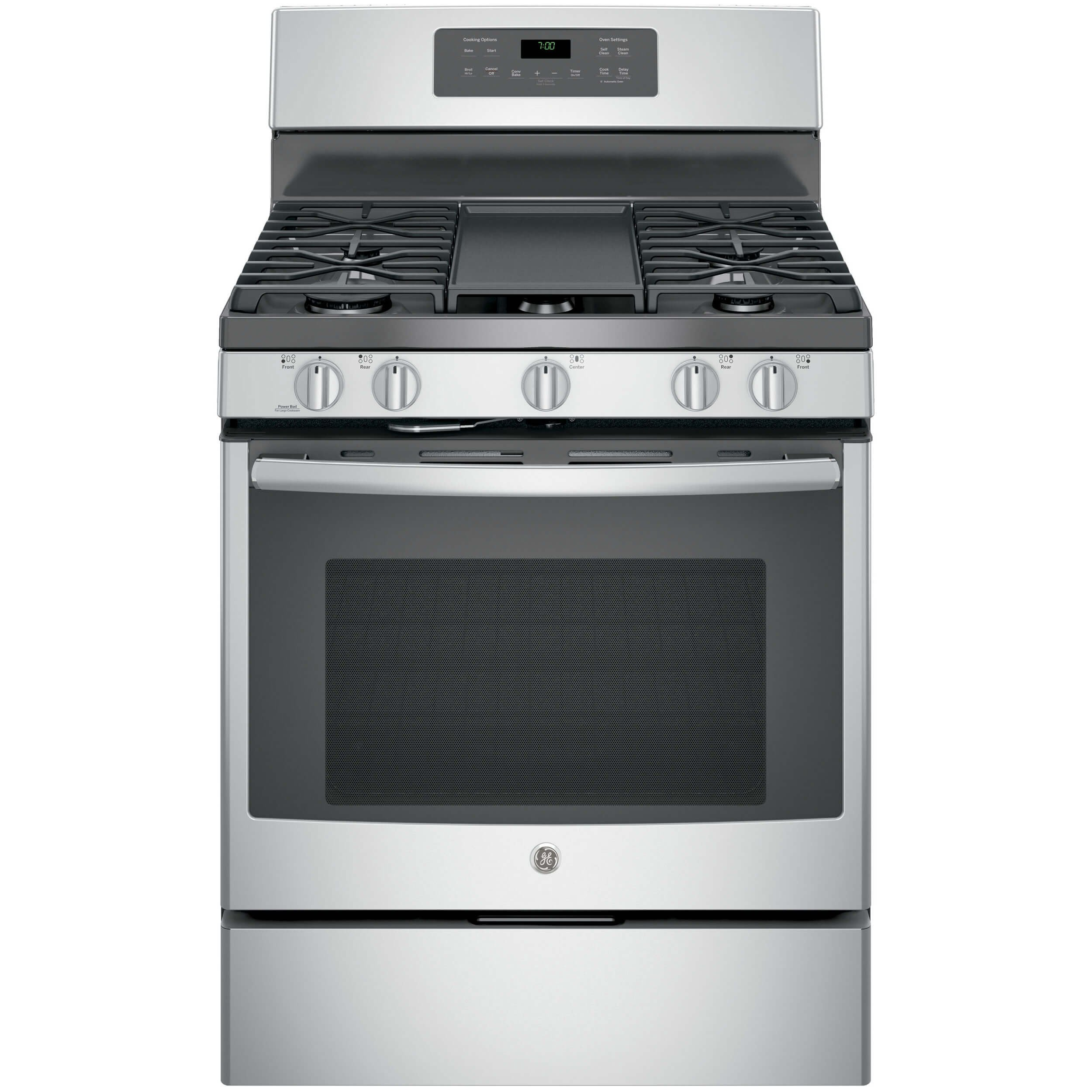 GE JGB700SEJSS 30'' Stainless Steel Gas Sealed Burner Range - Convection