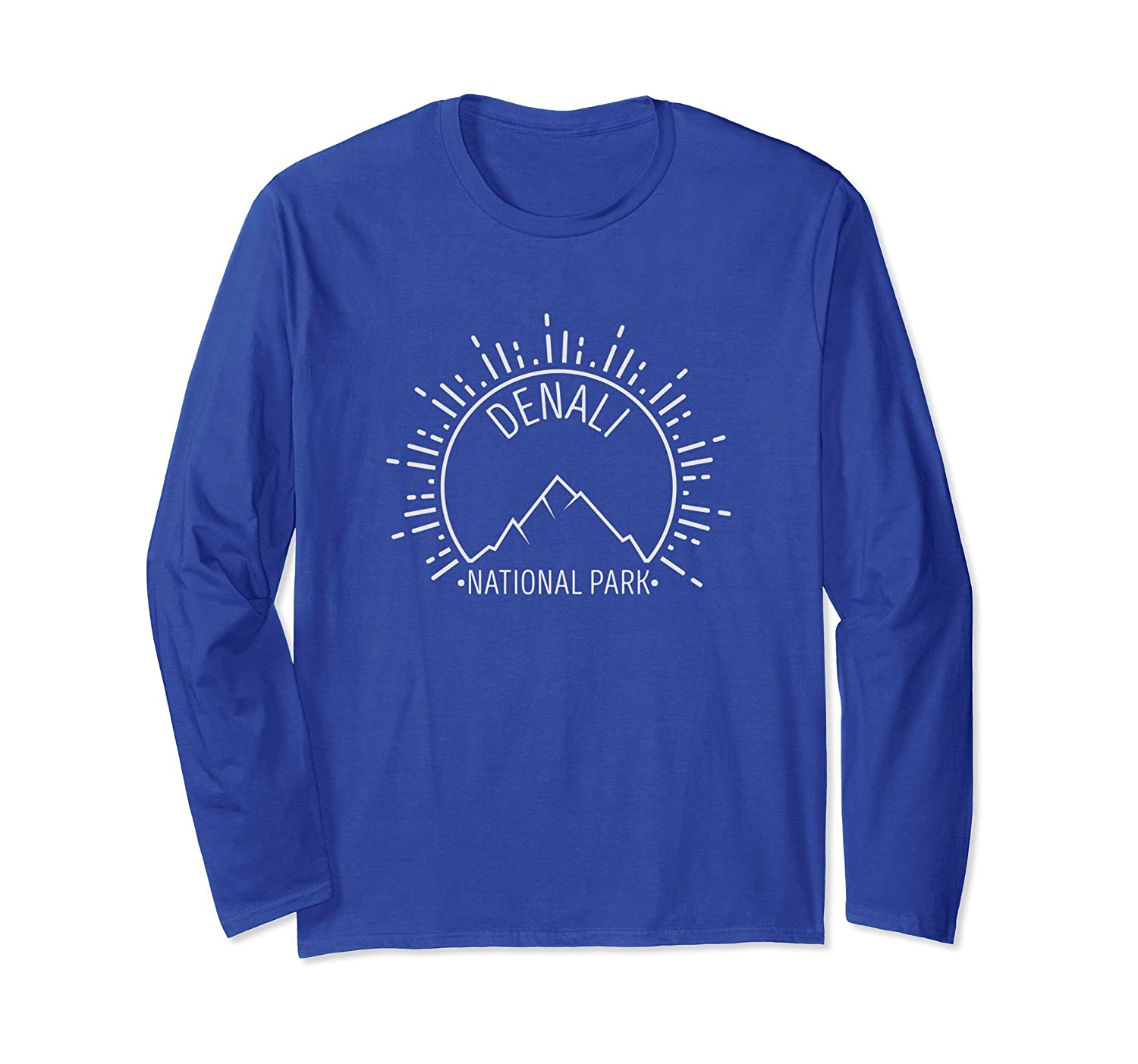 Denali National Park Souvenir Long Sleeve T-Shirt-fa