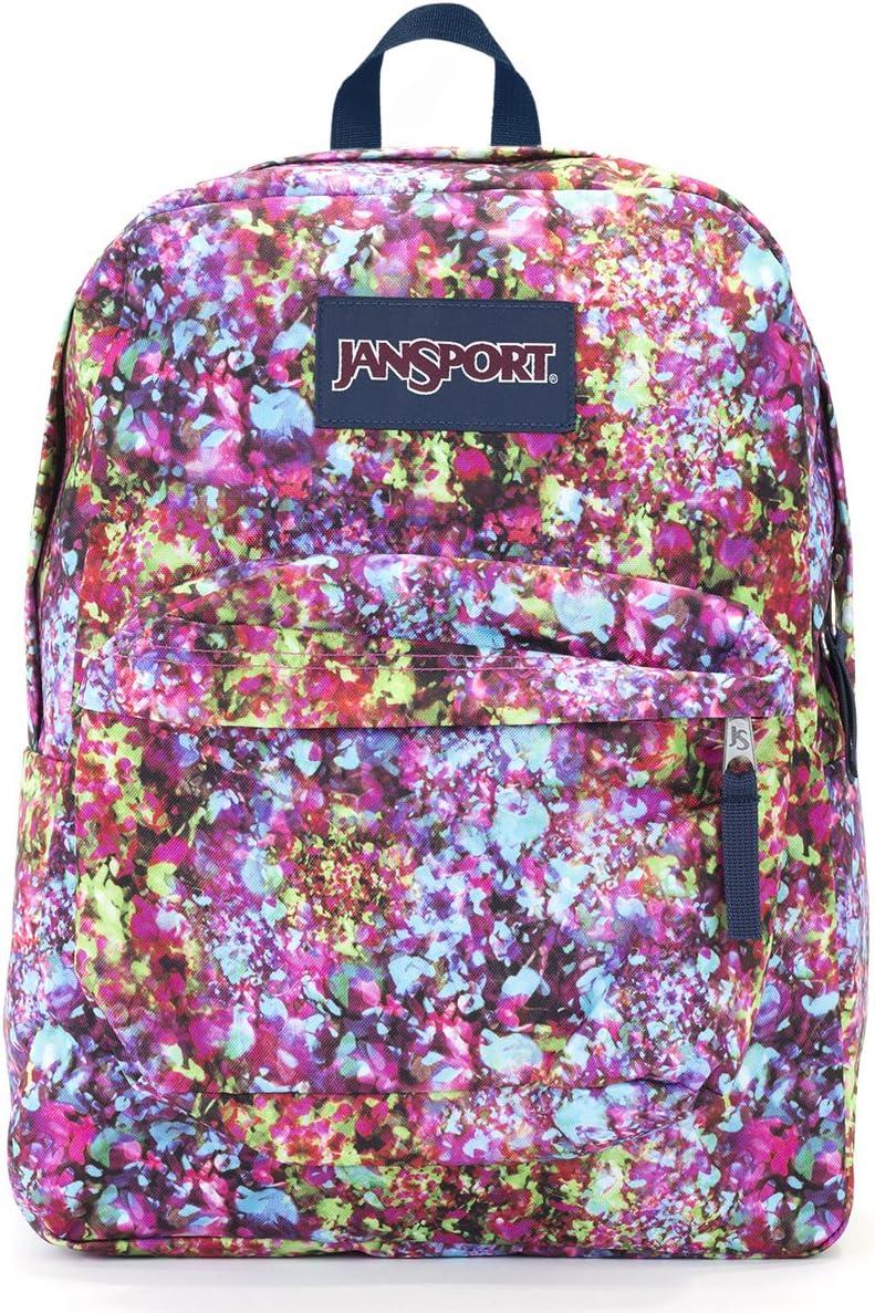 Jansport Superbreak Backpack multi flower explosion