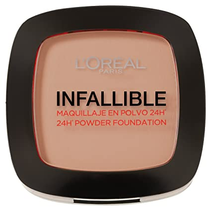 LOreal Paris Make-up Designer Color Riche Infalibile Polvo Fundente Matificante, Tono