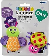 Lamaze LC27092 Muñequeras, 0 - 24 meses