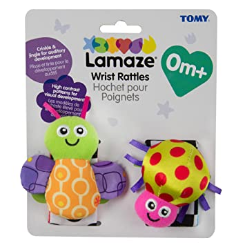 New Rattle Toy Hearing Training Baby Animal Wrist Band Rattle Educational Toys