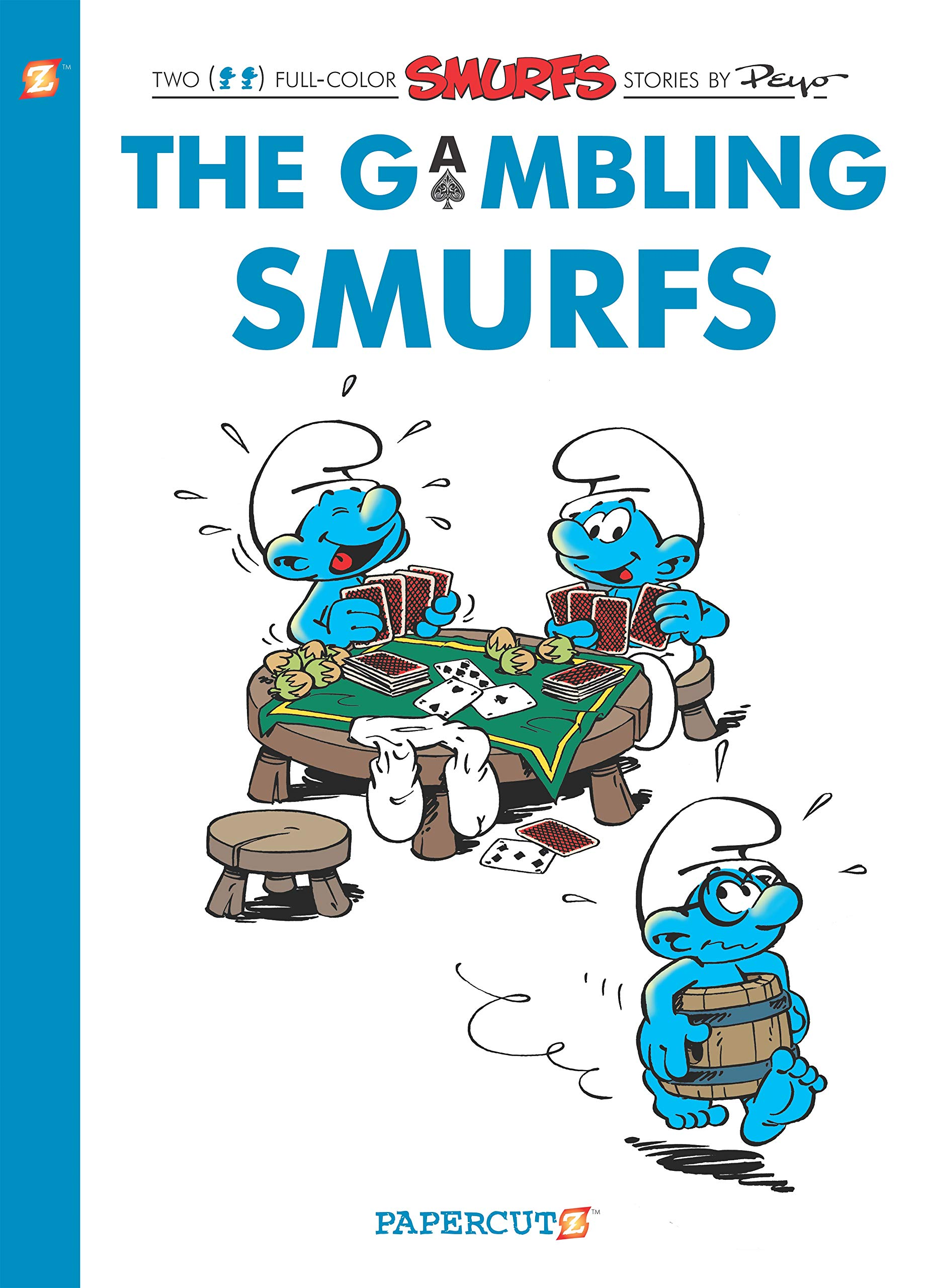 The Smurfs #25: The Gambling Smurfs (The Smurfs Graphic Novels)
