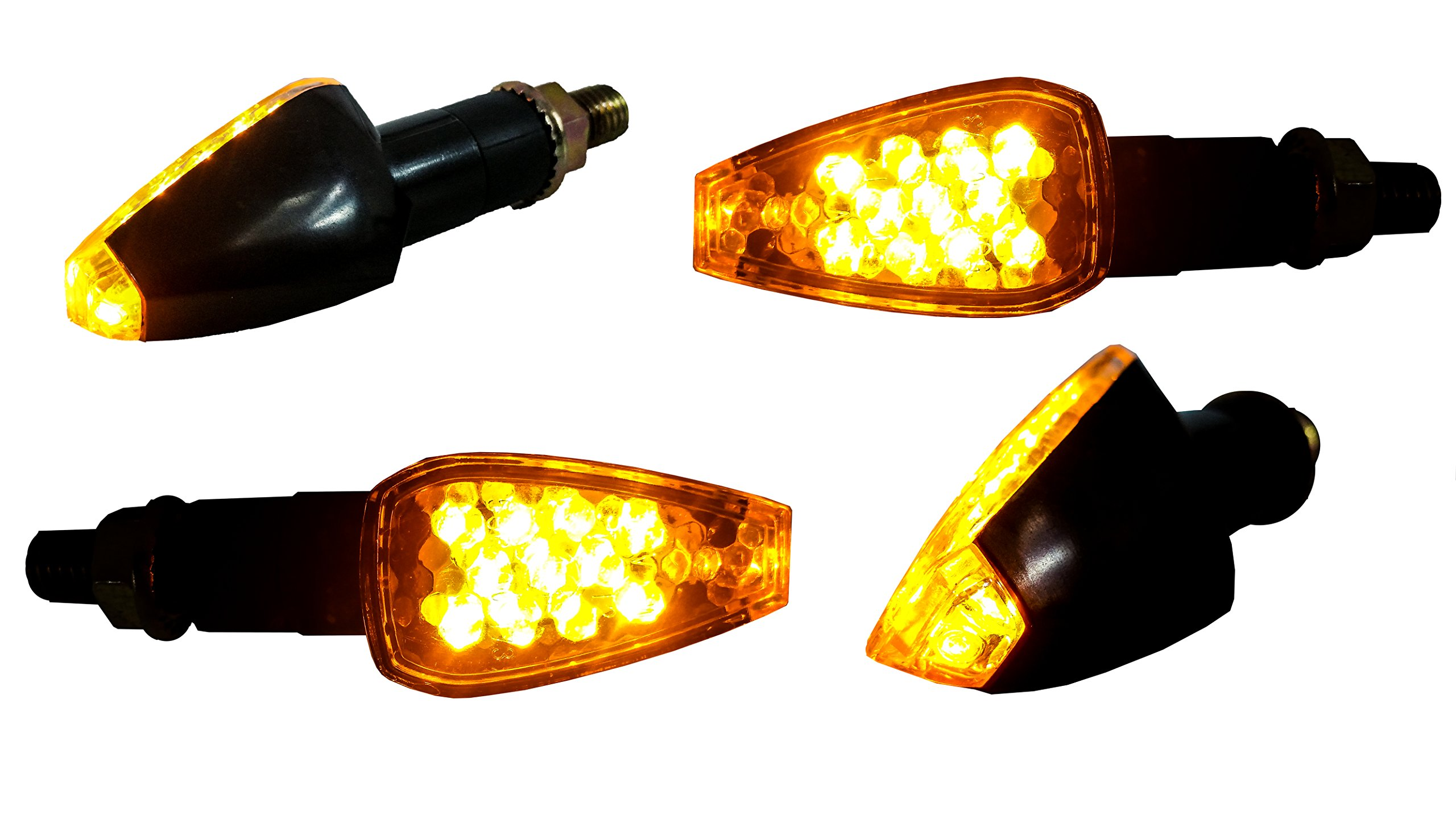 4x Turn Signal LED HONDA Dual Sport Motorcycle dirt bike supermoto light blinker by ozg-motors