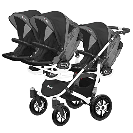 Carrito para anzuelo säugling y antiguos Géminis 1 Góndola 3 Sport asientos trippi cochecito 2 in1