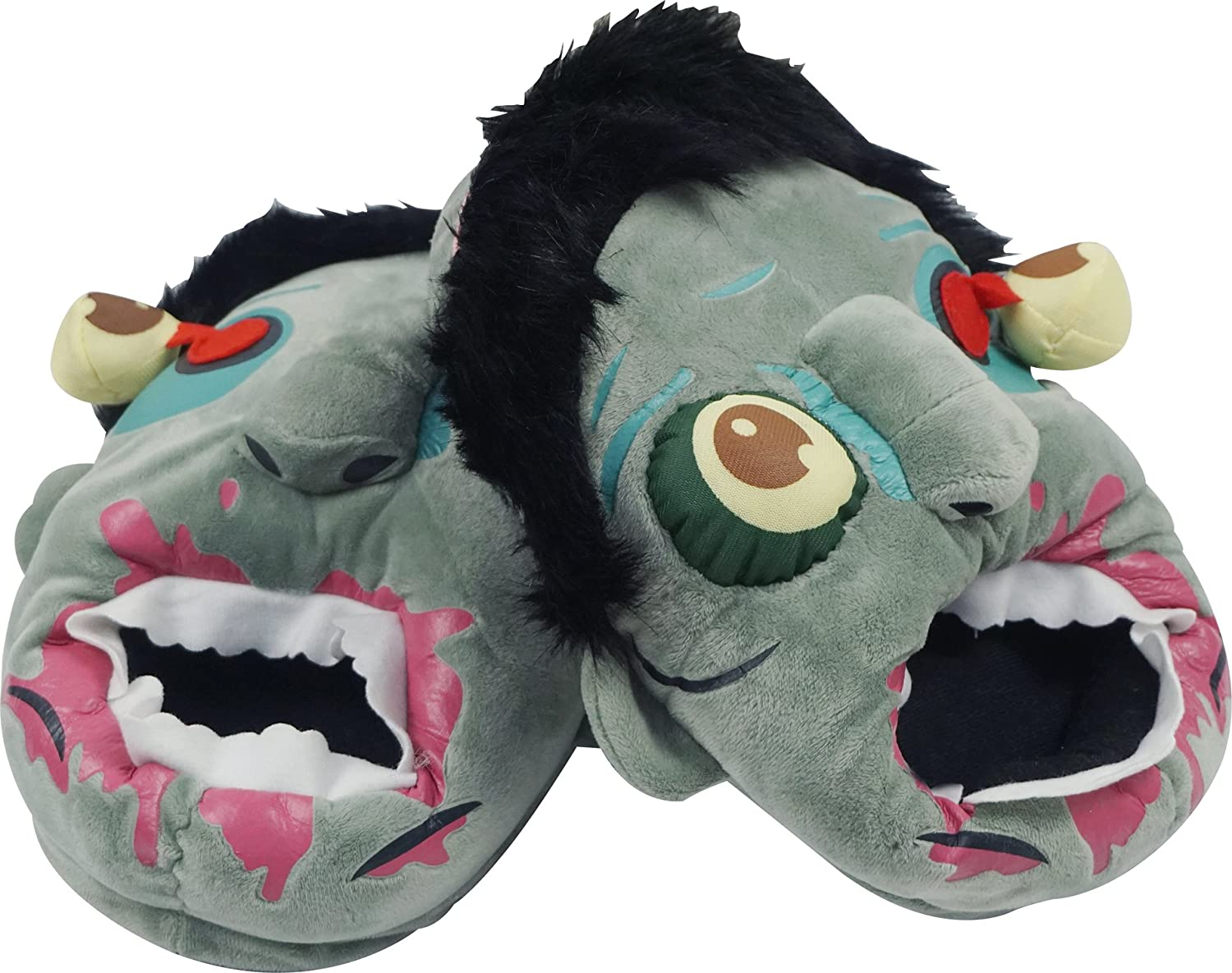 Zombie Plush Slippers (One size fits most) ELA14090107020