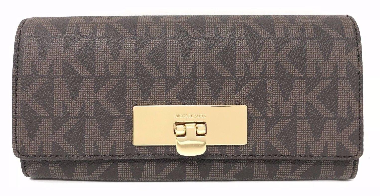 Michael Kors Callie Signature Carryall Wallet