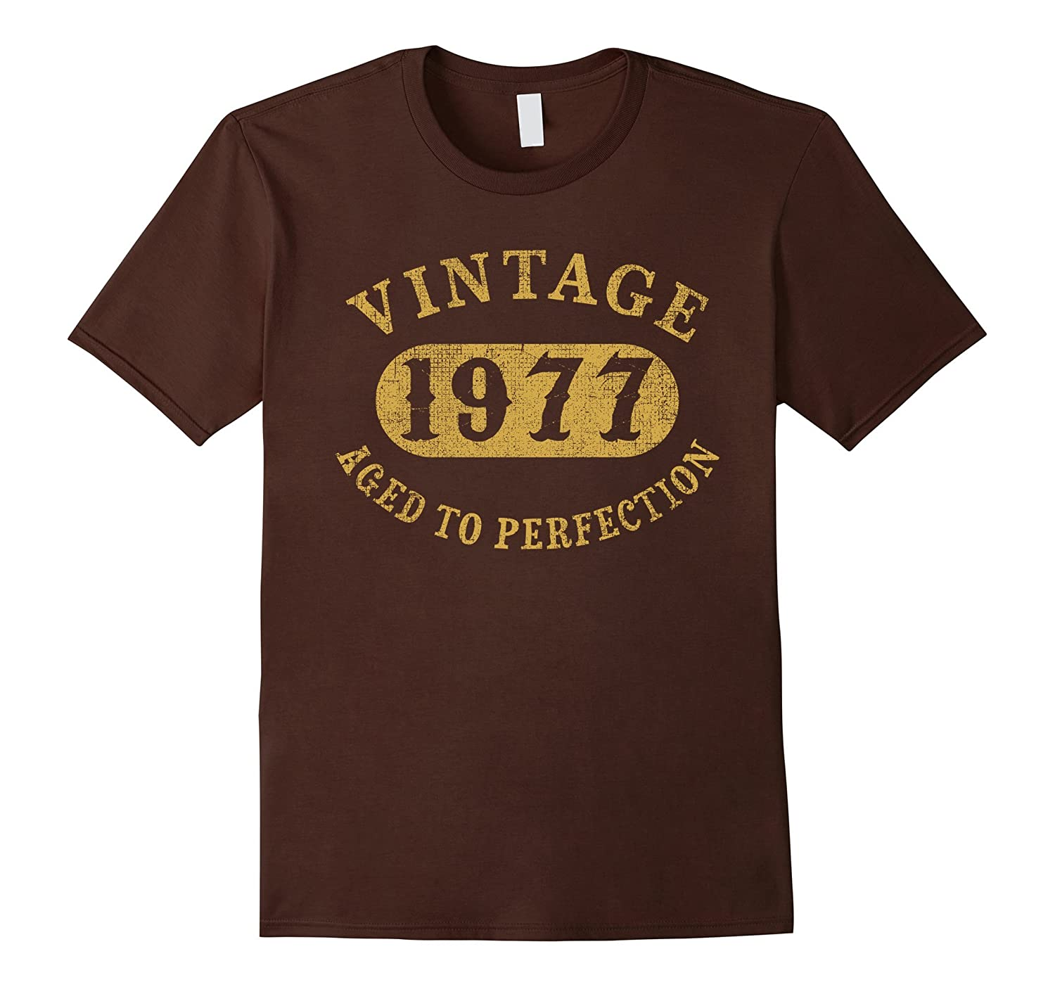 40 years old 40th Birthday B-day Gift Vintage 1977 T-Shirt-CD