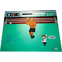 $94 » Mike Tyson Signed Autographed 16x20 Boxing Punch Out Poster Photo Print PSA DNA Authenticated COA Certified