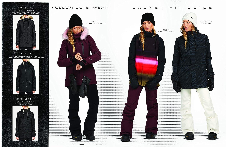 Volcom Veste Femme De SkiSnow Fawn Ins Black Femme