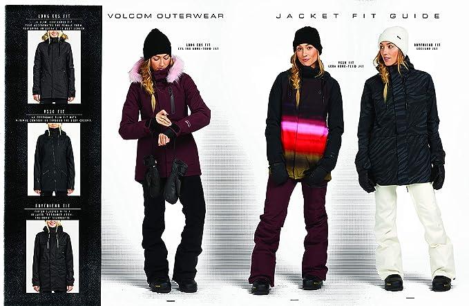 Amazon.com: Volcom Winrose - Chaqueta de nieve para mujer ...