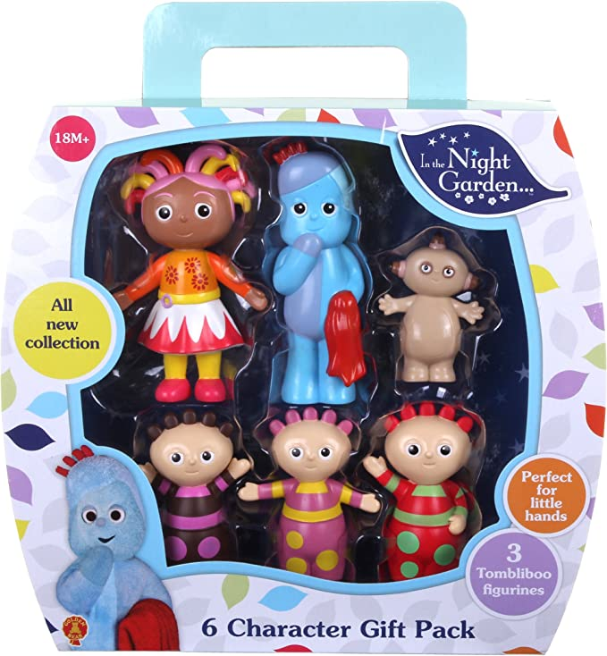In The Night Garden 6 figurine personnage Cadeau Pack