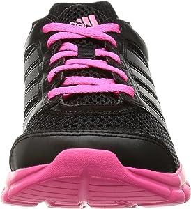 Adidas Breeze 101 2 - Zapatillas de running para mujer, Black 1/Neo Iron Metallic F11/Neon Pink, 36 EU (3.5) : Amazon.es: Zapatos y complementos