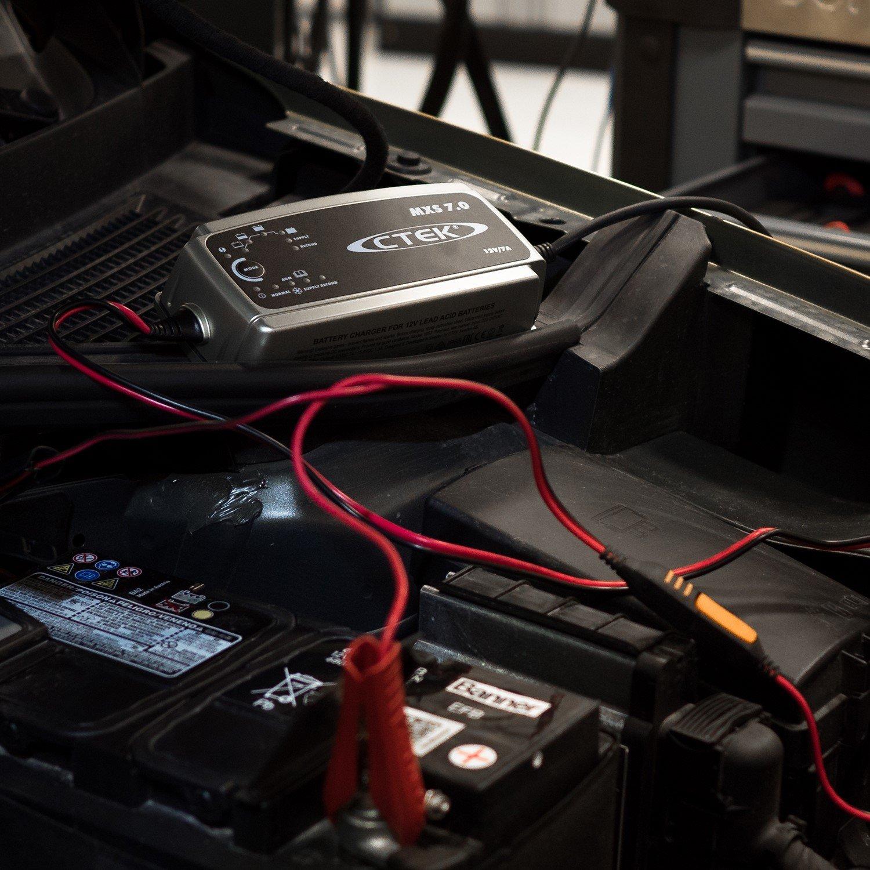 Amazon.com: CTEK Cargador de batería CTEK mxs7.0 12 V 7 A ...