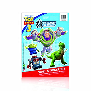 GF Toys 910245 - Stickers Pared Ts3 Buzz: Amazon.es ...