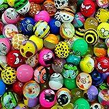 German Trendseller® - 12 x pelotas de gome ┃fiestas infantiles┃ idea de regalo┃piñata┃cumpleaños infantiles┃ 12 unidades