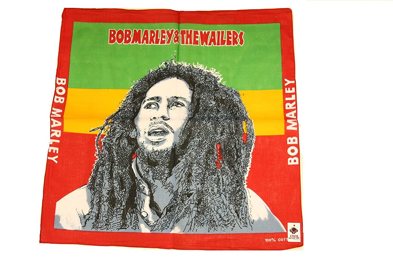 Neckerchief 100/% Cotton Zacs Alter Ego/® Bob Marley Bandana