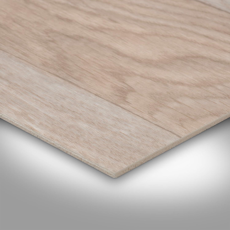 Holzoptik Schiffsboden Eiche wei/ß 300 BODENMEISTER BM70555 Vinylboden PVC Bodenbelag Meterware 200 400 cm breit
