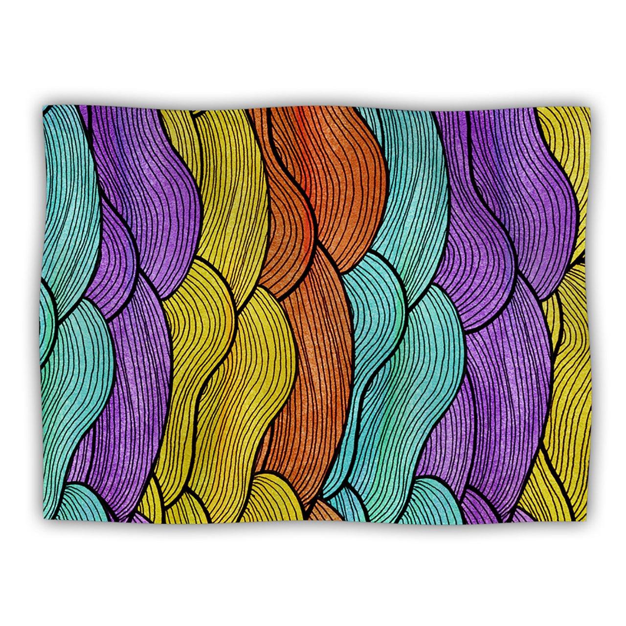 KESS InHouse Pom Graphic Design Textiles Pet Dog Blanket, 60 by 50-Inch