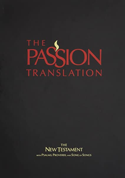 The Passion Translation New Testament Purple With Psalms Proverbs And Song Of