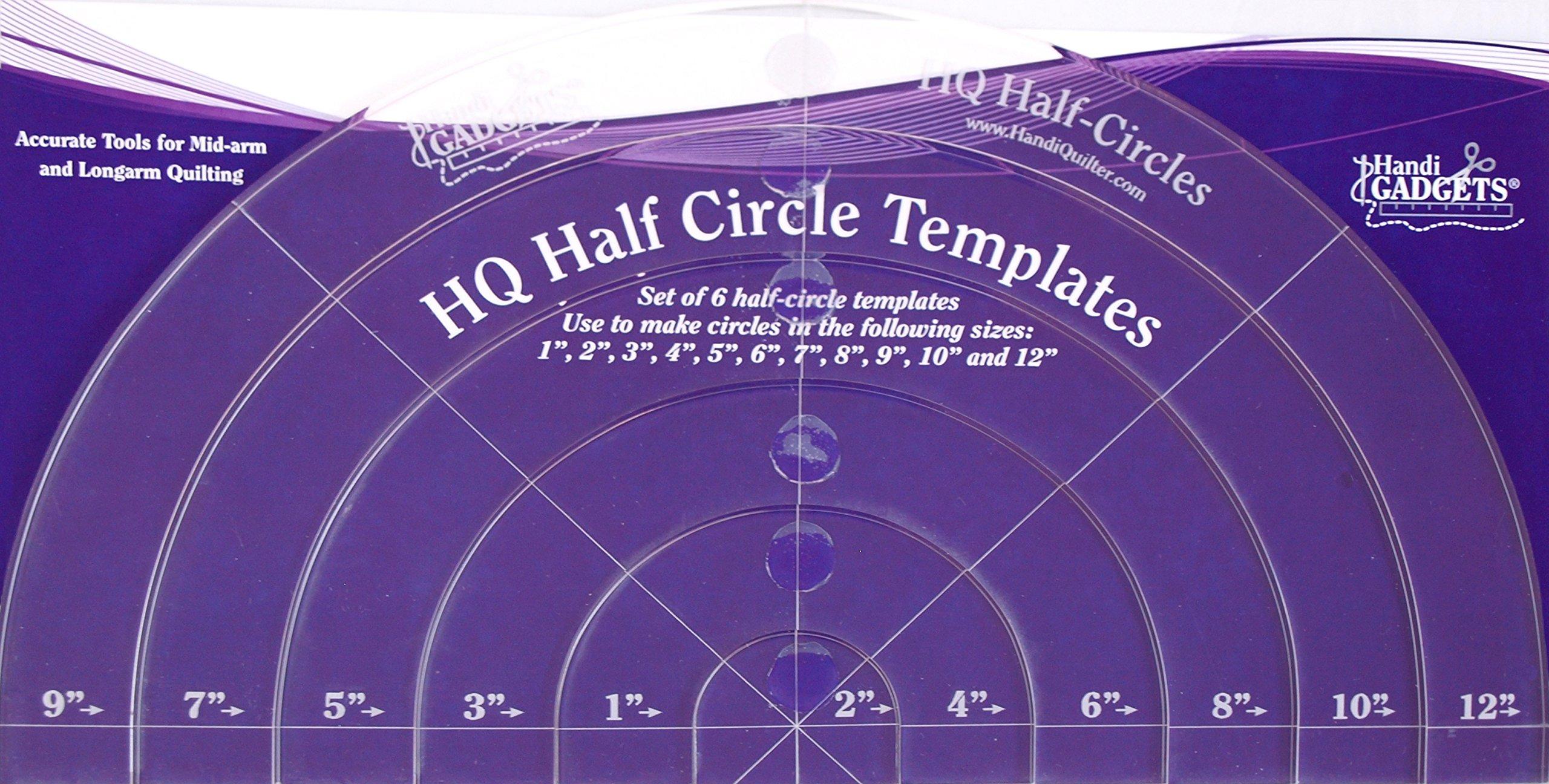 Handi Quilter Half-Circle Templates by Handi Quilter, Inc