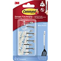 Command Company 17067CLR-VP Clear Wire Hook (9 Pack)