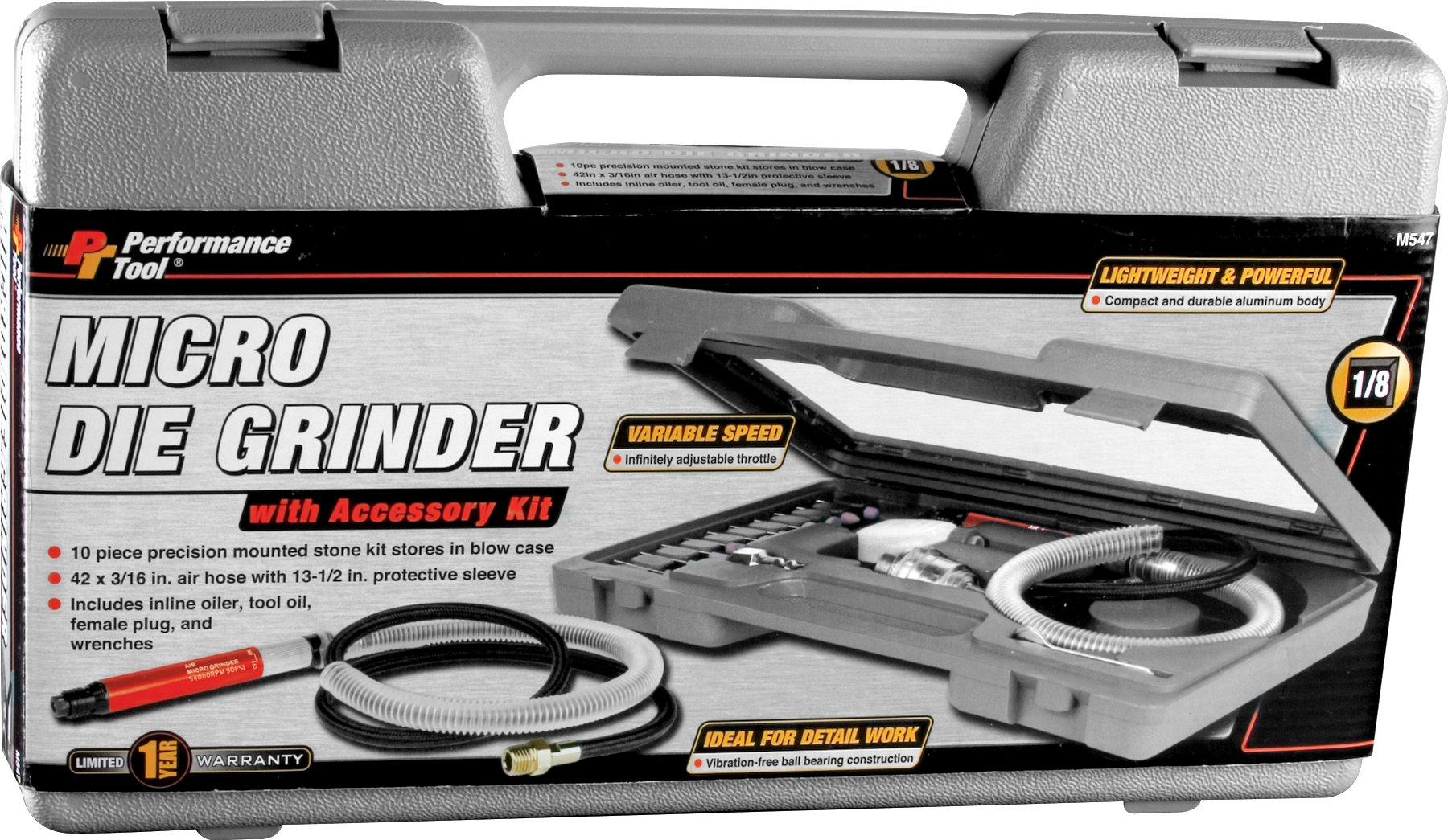 Performance Tool M547 1/8'' Micro Die Grinder by Performance Tool (Image #3)