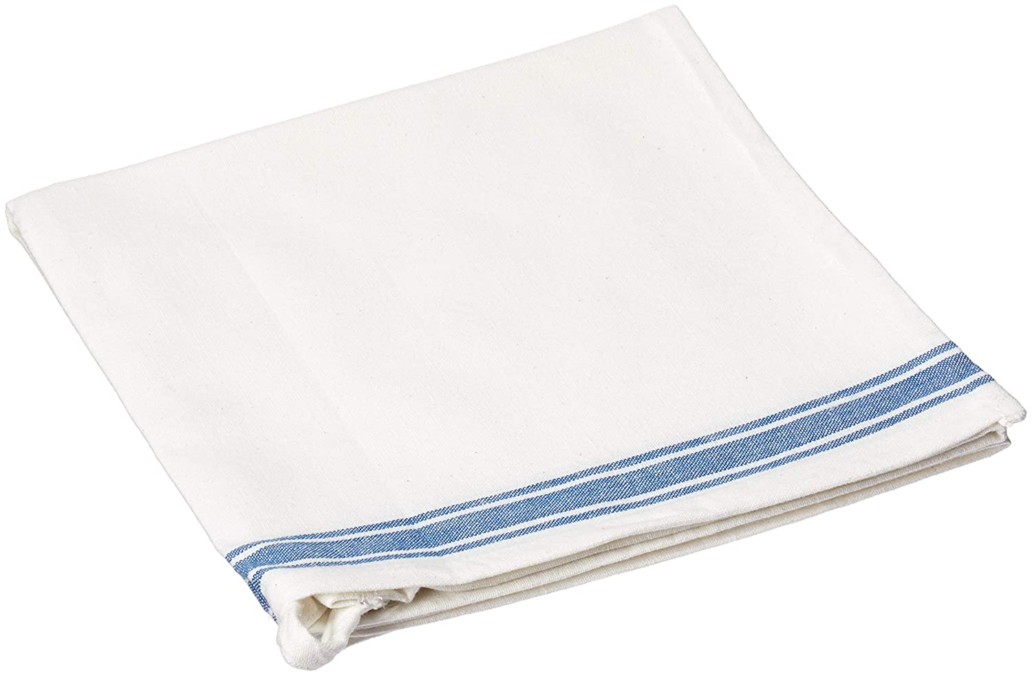 Set of 6 Liliane blue kitchen dishtowels