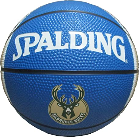 Game Master NBA Milwaukee Bucks Mini – Balón de Baloncesto, tamaño ...