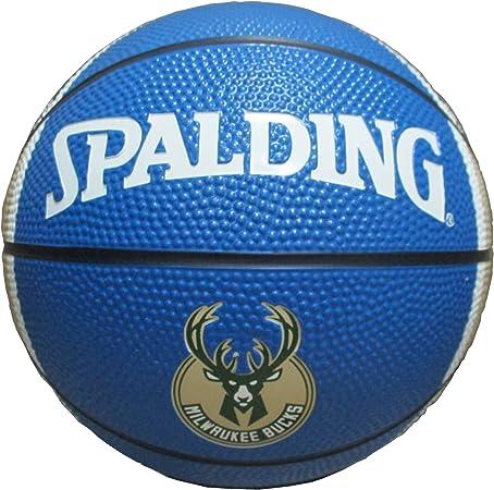 Game Master NBA Milwaukee Bucks Mini – Balón de Baloncesto, tamaño ...