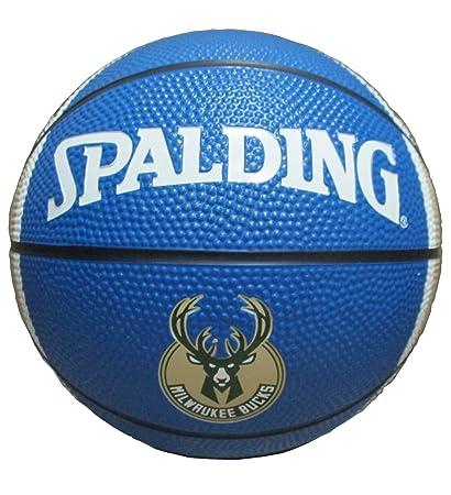 Game Master NBA Milwaukee Bucks Mini Basketball, 7-inches