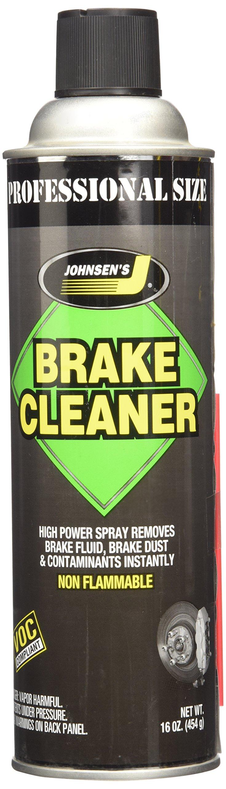 Johnsen's 2420 Brake Parts Cleaner - 16 oz.