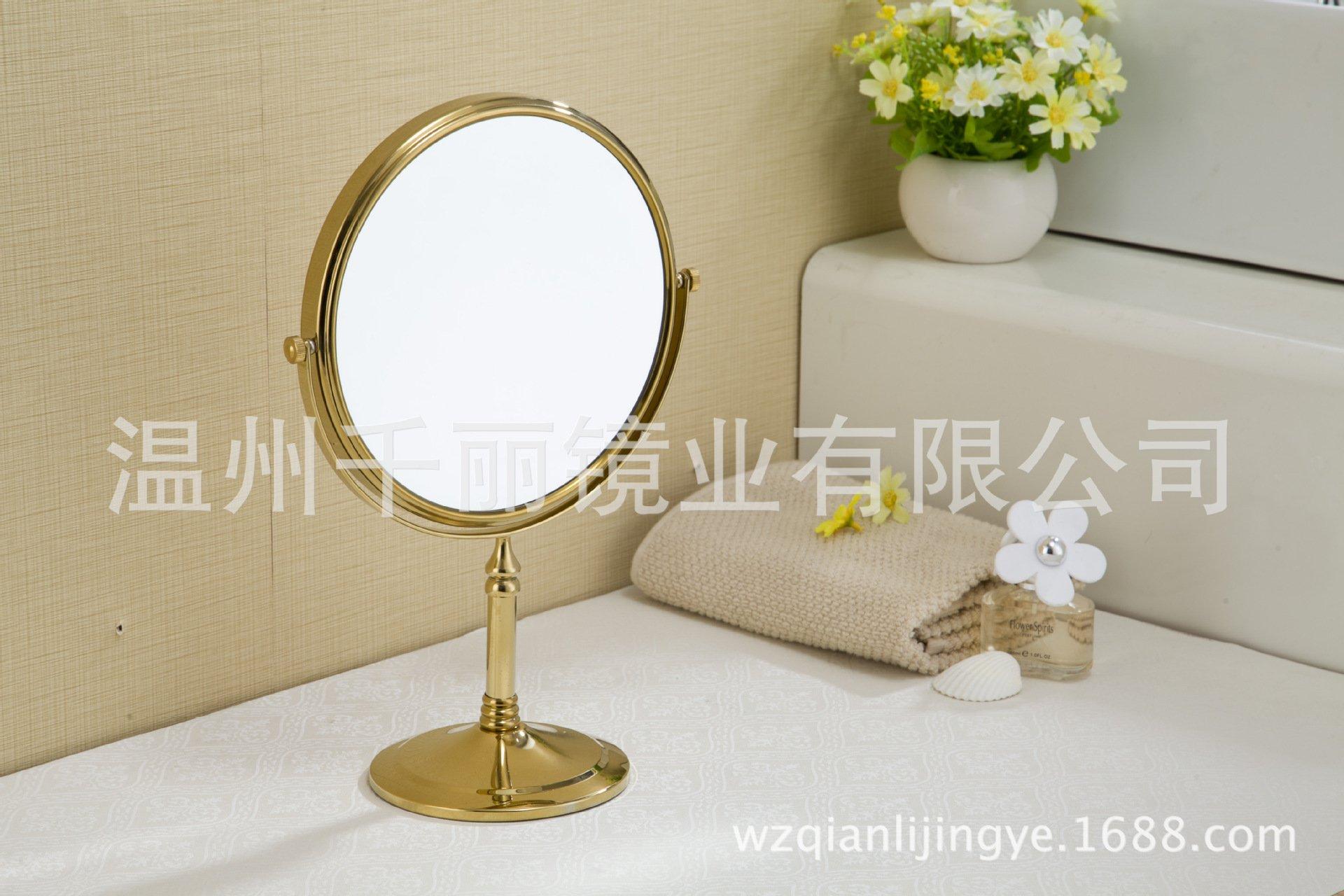 Cosmetic mirror desk mirror bronze makeup mirror cosmetic mirror 6 inch