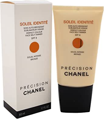 Chanel Soleil Identite Perfect Colour SPF 8 Face Self-Tanner, Intense Bronze, 50ml